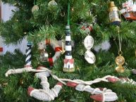 Bodie Island Lighthouse Christmas Tree Ornament