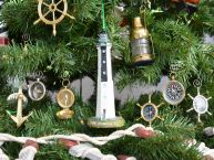 Cape Romain Lighthouse Decoration Christmas Tree Ornament