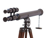 Floor Standing Oil-Rubbed Bronze Griffith Astro Telescope 64