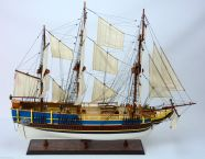 Wooden HMS Bounty Limited Model Ship 37