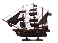 Wooden Captain Kiddandapos;s Adventure Galley Model Pirate Ship 15
