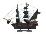Wooden John Halseyandapos;s Charles Pirate Ship Model 14