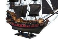 Blackbeards Queen Annes Revenge Limited Model Pirate Ship 36