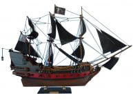 "Blackbeard's Queen Anne's Revenge Model Pirate Ship Limited 24"" picture"