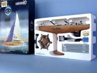 Ready To Run Remote Control MX White Model Sailboat 17