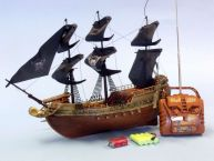 Ready To Run Remote Control Caribbean Pirate Ship 18