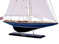 Wooden Velsheda Limited Model Sailboat Decoration 35