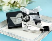 Chrome Cruise Ship Luggage Tag 3