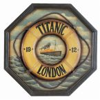 Titanic 1912 Life Ring Pub Sign 24