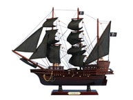 Wooden John Halseyandapos;s Charles Pirate Ship Model 20
