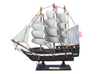Wooden Constitution Tall Model Ship 10