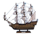 Wooden Wasa Tall Model Ship 14