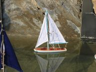 It Floats 12 - Light Blue Floating Sailboat