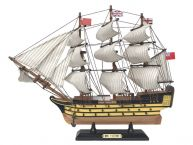 "Wooden HMS Victory Limited Tall Ship Model 15"" picture"