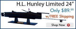 HL Hunley Submarine