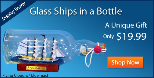 Ship in a bottle Boat