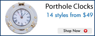 Porthole Clocks