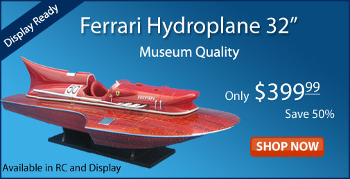 Ferrari Model Speed Boat