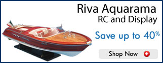 Riva Aquarama Model Speed Boats